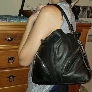 Nwt Leather B.Makowski hobo bag